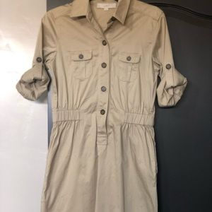 Ann Taylor Loft Safari Dress